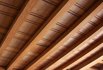 binnenschilderwerken houten plafond