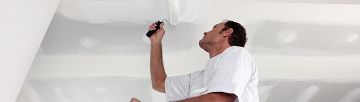 plafond in Geraardsbergen schilderen