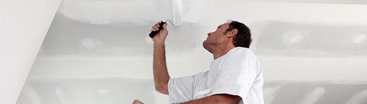 plafond schilderen Halen