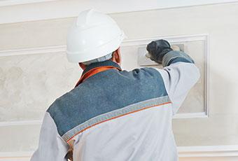 herstellen van pleisterwerk